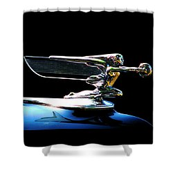 Goddess Of Speed Shower Curtain