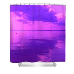 God's Canvas Shower Curtain