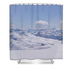 Shower Curtain featuring the photograph Gods Country by Brian Williamson