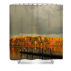 God's Eye Shower Curtain