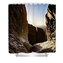 God's Eye View Shower Curtain