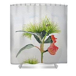 Flowering Gum Tree Shower Curtain