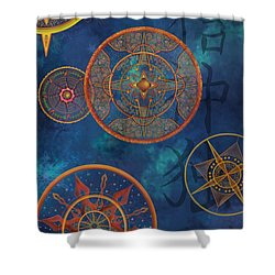 Gods Shelter Shower Curtain