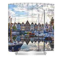 Goes Harbour Shower Curtain