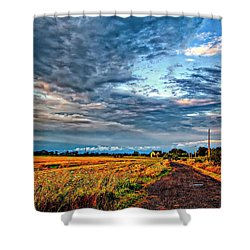 Goin' Home Shower Curtain