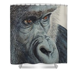 Going Ape...sold  Shower Curtain