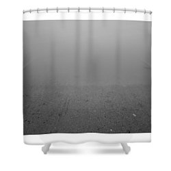 Going Down Shower Curtain