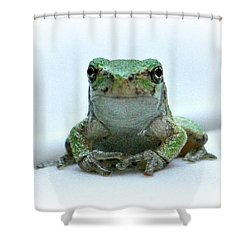 Going Forward  Shower Curtain by Barbara S Nickerson