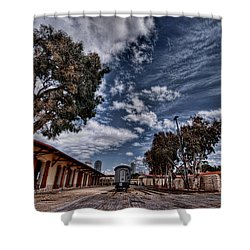 Going To Jerusalem Shower Curtain