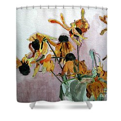 Going To Seed Shower Curtain