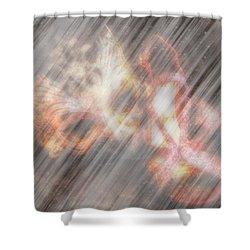 Going To The Ball Shower Curtain by Amanda Eberly-Kudamik