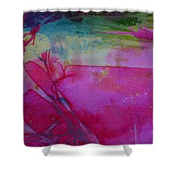 Shower Curtain featuring the painting Going Tropical by Mary Sullivan