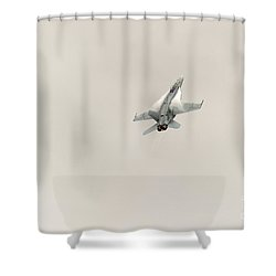 Going Vertical IIi Shower Curtain