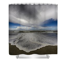 Gold Bluffs Beach 1 Shower Curtain