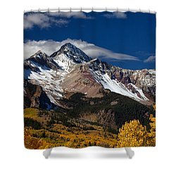 Golden Afternoon Shower Curtain by Darren  White