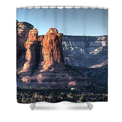 Golden Buttes Shower Curtain