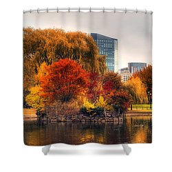 Golden Common Shower Curtain by Joann Vitali