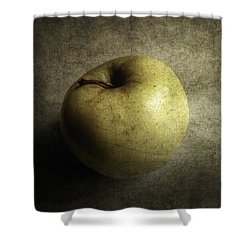 Golden Shower Curtain by Cynthia Lassiter