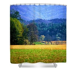 Golden Day Shower Curtain