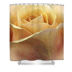 Golden Delicious Shower Curtain by Darlene Kwiatkowski