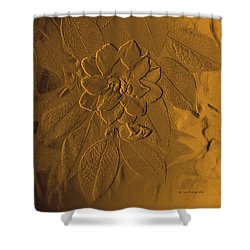 Golden Effulgence Shower Curtain