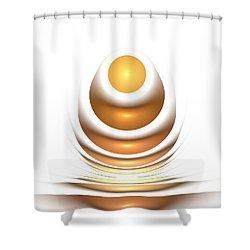 Golden Egg Shower Curtain