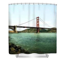 Golden Gate Bridge 2.0 Shower Curtain