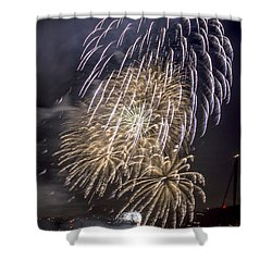 Golden Gate Bridge 75th Anniversary Fireworks 15 Shower Curtain