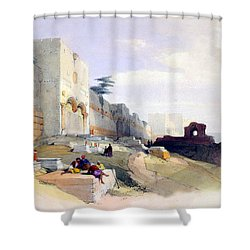 Golden Gate Of The Temple Shower Curtain