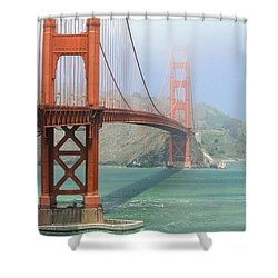 Shower Curtain featuring the photograph Golden Gate by Steven Bateson