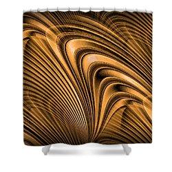 Golden Opportunity Shower Curtain by Kristin Elmquist