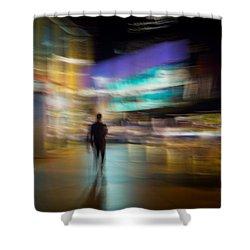 Shower Curtain featuring the photograph Golden Temptations by Alex Lapidus