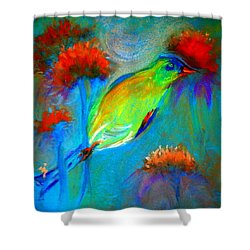 Goldfinch Shower Curtain
