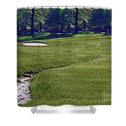Golf Hazards Shower Curtain