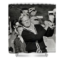 Golfer Jack William Nicklaus Born January 21 1940 Nicknamed The Golden Bear Shower Curtain