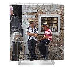 Gondoglieri Shower Curtain