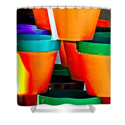 Gone Potty Shower Curtain