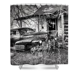 Gone To Hell Shower Curtain