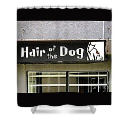 Gone To The Dogs Shower Curtain by Ethna Gillespie