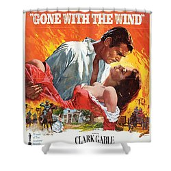 Gone With The Wind - 1939 Shower Curtain