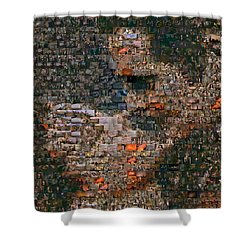 Gone With The Wind Scene Mosaic Shower Curtain