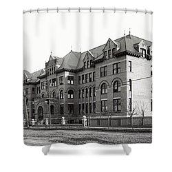 Gonzaga College Spokane 1900 Shower Curtain by Daniel Hagerman