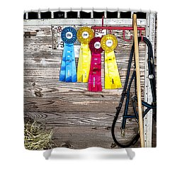 Good Day At The Event Shower Curtain