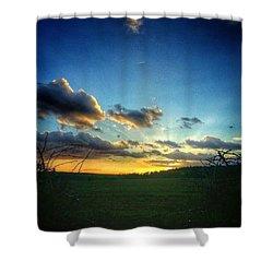 Good Morning :) Shower Curtain