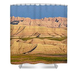 Shower Curtain featuring the photograph Good Morning Badlands I by Patti Deters