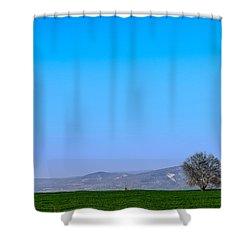 Good Morning  Beautiful World  Shower Curtain by Sotiris Filippou