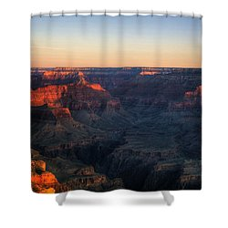Good Morning Shower Curtain by Dave Files