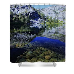 Shower Curtain featuring the photograph Good Morning Eagle Lake by Sean Sarsfield
