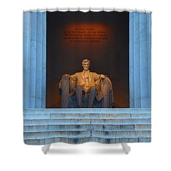 Good Morning Mr. Lincoln Shower Curtain