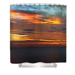 Good Morning Panama Shower Curtain